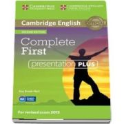 Complete First Presentation Plus (DVD-ROM) - Guy Brook-Hart, Barbara Thomas, Amanda Thomas