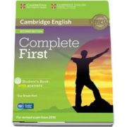 Complete First Student's Book with Answers with CD-ROM - Guy Brook Hart