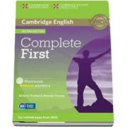 Complete First Workbook without Answers with Audio CD - Amanda Thomas
