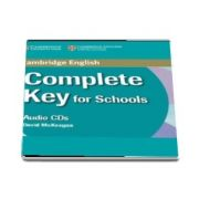 Complete Key for Schools Class Audio CD (David McKeegan)