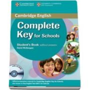 Complete Key for Schools Student s Book without Answers with CD-ROM (David McKeegan)