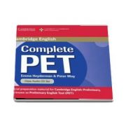 Complete PET Class Audio CD - Peter May and Emma Heyderman