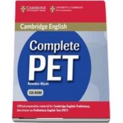 Complete PET Student's Book Pack (Student's Book with answers with CD-ROM and Audio CD) - Rawdon Wyatt