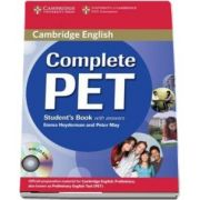 Complete PET Student's Book with answers with CD-ROM (Peter May)