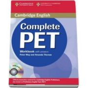 Complete PET Workbook with answers with Audio CD (Amanda Thomas, Peter May )