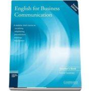English for Business Communication Teacher s book de Simon Sweeney
