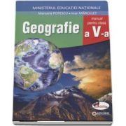 Geografie manual pentru clasa a V-a - Manuela Popescu si Ioan Marculet - Contine CD cu editia digitala