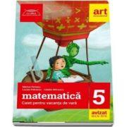 Matematica caiet pentru vacanta de vara clasa a V-a. Colectia - clubul matematicienilor - Marius Perianu - Editia 2018
