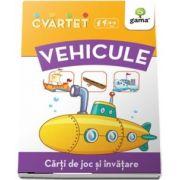 Vehicule - Carti de joc si invatare - Colectia Cvartet 4-6 ani