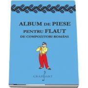 Album de piese pentru flaut de compozitori romani. Acompaniament pentru pian
