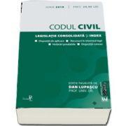 Codul civil. Legislatie consolidata si index, iunie 2018