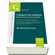Culegere de subiecte date la concursuri si examene. 2 Procedura civila de Madalina Dinu