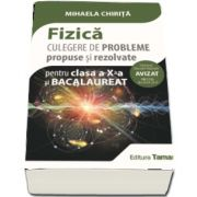 Fizica, culegere de probleme propuse si rezolvate pentru clasa a X-a si Bacalaureat - Mihaela Chirita (Avizat - OM 3530)