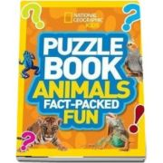 Puzzle Book Animals: Brain Tickling Quizzes, Sudokus, Crosswords and Wordsearches