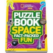 Puzzle Book Space: Brain-Tickling Quizzes, Sudokus, Crosswords and Wordsearches
