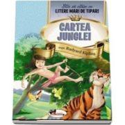Cartea junglei - Stiu sa citesc cu litere mari de tipar!