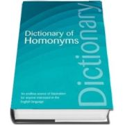 Dictionary of Homonyms