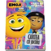 Emoji - Cartea cu jocuri. Carte de colorat si cu activitati