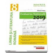 Evaluare nationala 2019, limba si literatura romana pentru clasa a VIII-a - Avizat M. E. N. conform O. M. nr. 3022/8. 01. 2018