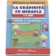 La gradinita cu Mihaela. Labirinturi pentru dezvoltarea atentiei si concentrarii, 3-4 ani