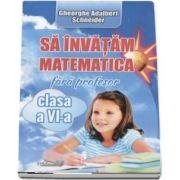 Sa invatam matematica fara profesor, clasa a VI-a - Adalbert Gheorghe Schneider