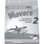Cambridge English Young Learners 2 for Revised Exam from 2018 Movers. Answer Booklet - Authentic Examination Papers
