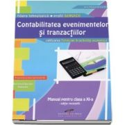 Contabilitatea evenimentelor si tranzactiilor. Manual pentru clasa a XI-a, calificarea Tehnician in activitati economice