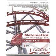 Marius Burtea - Culegere de matematica, clasa a X-a. Probleme si exercitii, teste - Profilul tehnic. Semestrul I