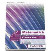 Marius Burtea - Culegere de matematica, clasa a XI-a. Probleme si exercitii, teste - Profilul tehnic. Semestrul I