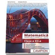 Marius Burtea - Culegere de matematica, clasa a XII-a. Probleme si exercitii, teste - Profilul tehnic. Semestrul II