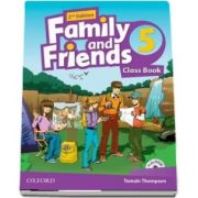 Family and Friends 5, Class Book. 2nd Edition, with MultiROM de Tamzin Thompson