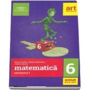 Matematica culegere pentru clasa a VI-a, semestrul I - Colectia clubul matematicienilor (2018-2019) - Marius Perianu
