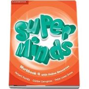 Super Minds Level 4 - Workbook with Online Resources - Herbert Puchta