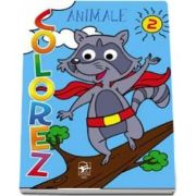 Colorez animale, partea 2 - Ilustratii Jorge Santillan