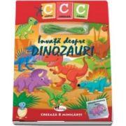 Copiii creeaza carti. Invata despre dinozauri