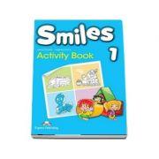 Smileys 1, Activity Book. Caiet pentru clasa a I-a