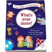Whas your name? I learn Englishj with Peter and Emily!