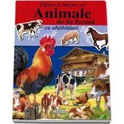 Animale de la ferma - Lipesc si ma joc cu abtibilduri