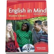 English in Mind. Students book with DVD, Level 1