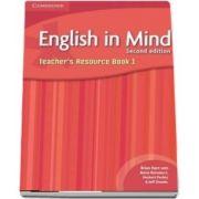 English in Mind. Teacher's Resource Book, level 1