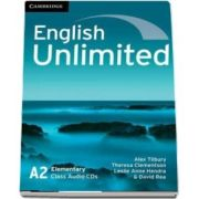 English unlimited elementary. Class audio CD