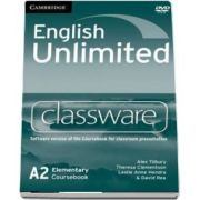 English unlimited elementary. Classware DVD