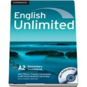 English unlimited elementary. Coursebook with e-Portfolio and online workbook pack