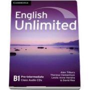 English Unlimited Pre-intermediate Class Audio CD