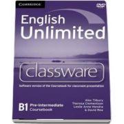 English Unlimited Pre-intermediate Classware DVD