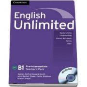 English Unlimited Pre-intermediate. Teachers Book with DVD