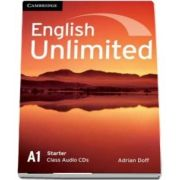English unlimited starter. Class audio CD