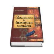Introducere în literatura română (Emil Alexandrescu)