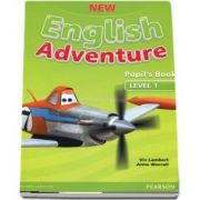 New English Adventure level 1. Pupils Book and DVD