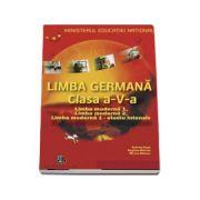Manual de Limba Germana pentru clasa a V-a. Limba moderna 1, Limba moderna 2, Limba moderna 1 - Studiu intensiv (Gabriele Kopp)
